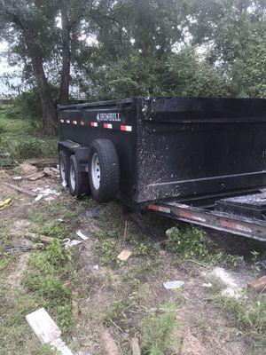 14ft dump trailer for Sale in Houston, TX