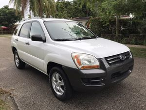 2007 KIA SPORTAGE LX...2 owner..CLEAN TITLE...4 cylinder for Sale in Miami, FL