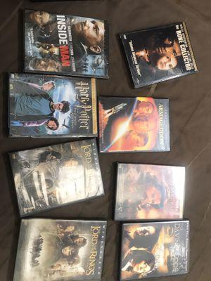 8 Action adventures DVDs for Sale in Richmond, VA