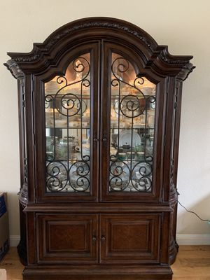 Dining Cabinet Pottery Barn for Sale in Los Angeles, CA