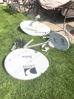 Directv satellite dishes, components and parts for Sale in Chicago, IL