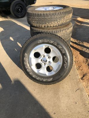 2014 Jeep JK tires and wheels for Sale in Lakeside, CA