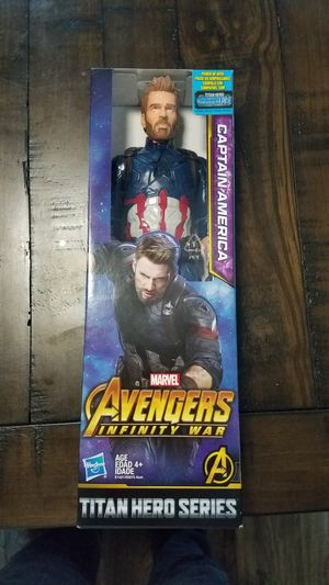 Captain America Action Figure for Sale in Vancouver, WA