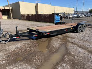 Flatbed Trailer 23 Feet x 7 Feet Deck New for Sale in Chandler, AZ