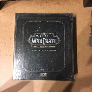 World of Warcraft Battle for Azeroth Collectors Edition(Brand New, Unopened) for Sale in Newport Beach, CA