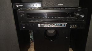 ONKYO SURROUND SOUND AND INFINITY SPEAKERS for Sale in Chula Vista, CA