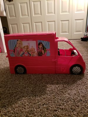 Barbie Sisters Mobile Home Deluxe Camper RV Vehic for Sale in Medina, OH