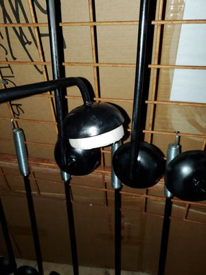 "Onion holder BBQ cleaner 25"" long,3.5 inch cup and galvanized handle with hanging loop. for Sale in Laredo, TX"