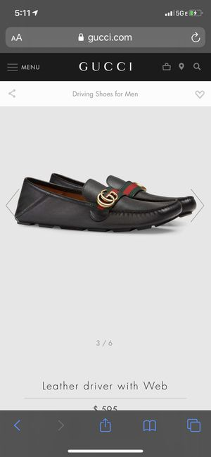 Gucci shoes and belt for Sale in Scottsdale, AZ