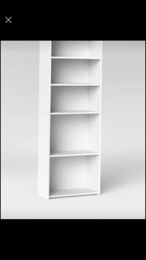 White bookcase for Sale in Long Beach, CA