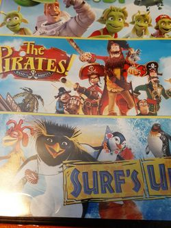 The PIRATES -PLANET 51 - SURF'S UP TRIPLE DVD FEATURE for Sale in Kissimmee,  FL