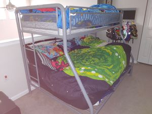 Full/Twin Bunk bed Frame Only for Sale in Littleton, CO