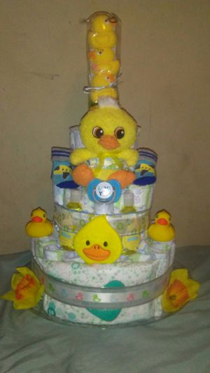 Duck diaper cake for Sale in Thonotosassa, FL