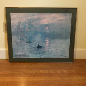 Monet Print - Sunset for Sale in Seattle, WA