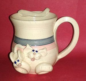 Hand Crafted Mouse Pottery Mug for Sale in Silver Spring, MD