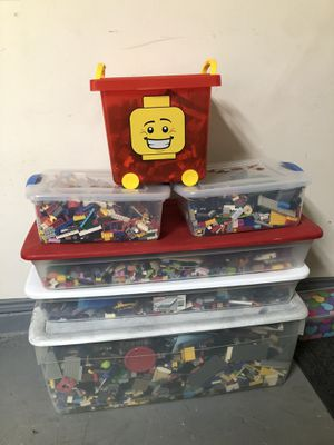Great treasure ⚡️ Huge boxes of Legos for Sale in Spring, TX