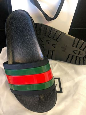New gucci men slides size 7 8 9 10 11 for Sale in Hollywood, FL