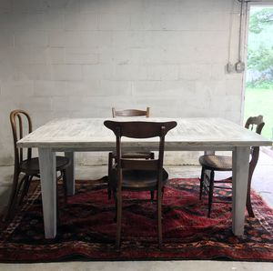 Farmhouse table and 4 chairs for Sale in Berryville, VA