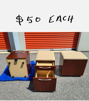 ROLLING FILING CABINETS **** ((( $50 EACH )))***** for Sale in Bel Air, MD