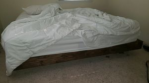 King size mattress and floating bed frame for Sale in Richland, WA
