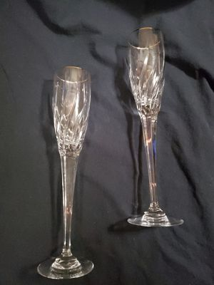 Lead crystal flutes for Sale in Cheyenne, WY