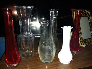 DECORATIVE VASES, really nice for Sale in East Peoria, IL