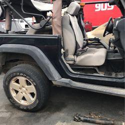 Jeep Wrangler Parts Transmission Bumper Doors Seats Lights for Sale in Fontana,  CA