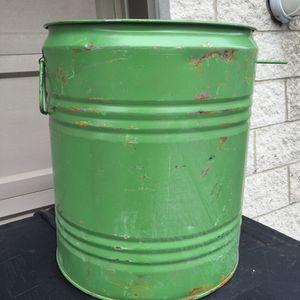 30 Gallon Metal Drum for Sale in Detroit, MI