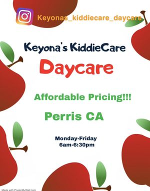 In home daycare/ childcare/ free application for Sale in Perris, CA