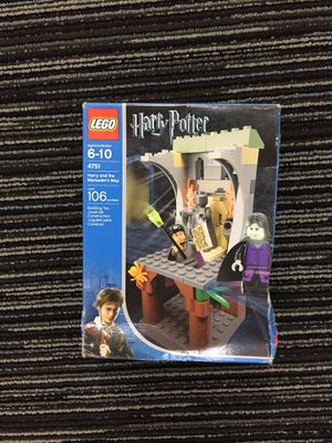 LEGO Harry Potter and Marauder's Map for Sale in Everett, WA
