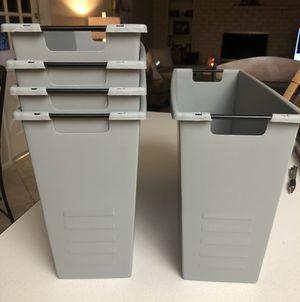Gray Bins (locker size) for Sale in Scottsdale, AZ