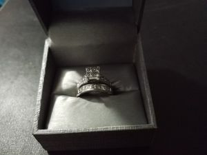 2 carat wedding band and ring for Sale in Pflugerville, TX