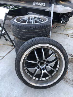 Acura / Honda / Infinity / Mazda / ETC/ 19 in. rims 5x114.3 bolt pattern Rims for Sale in Fresno, CA