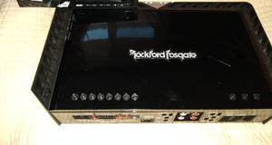 T400 Rockford amp 4 channels for Sale in Riverside, CA