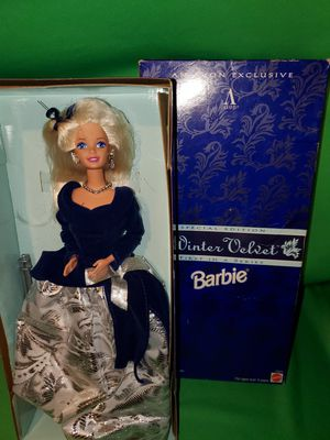 Barbie Doll Winter Velvet 1st in Series for Sale in Beaumont, CA