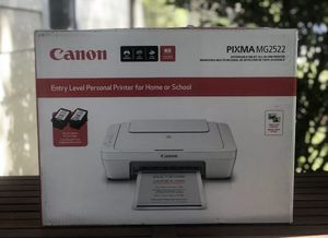 Canon PIXMA MG2522 Wired All-in-One Color Inkjet Printer with INK & USB Cable for Sale in Bradenton, FL