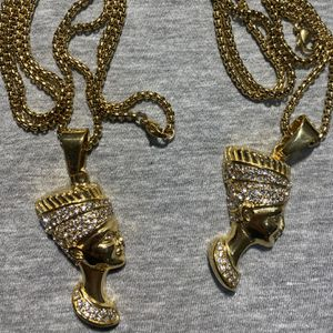 Gold Plated Egyptian Pharaoh Chain ❤️ for Sale in Boston, MA