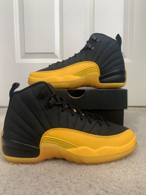Air Jordan 12 University gold GS size 3.5 for Sale in Laurel, MD