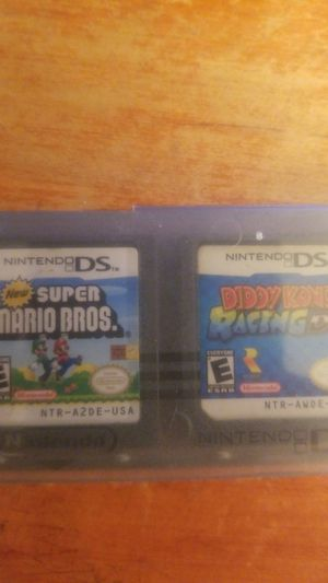 New Super Mario Bros AND Diddy Kong Nintendo Ds for Sale in Fort Thomas, KY