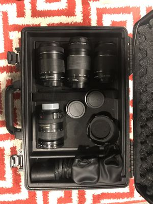 Canon and Nikon lenses kit for Sale in Thornton, CO