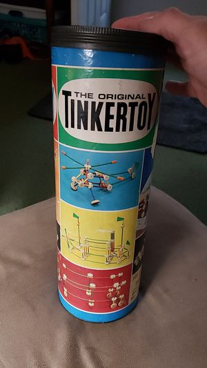 Old vintage Tinker toy set all their all original for Sale in Port Orchard, WA
