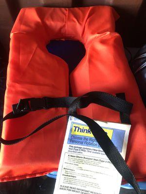 Life vests orange adult 6 of them for Sale in Malden, MA