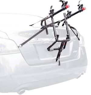 2-Bicycle Trunk Mounted Bike Rack Carrier, 102dn, Black for Sale in Miami, FL