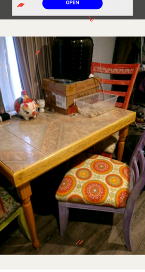 Hand carved kitchen table for Sale in Salt Lake City, UT