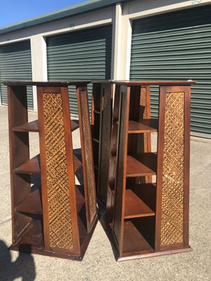 Set of 3 Wooden Tower Shelves for Sale in Richmond, VA