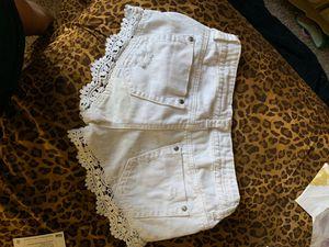 White shorts for Sale in Alpharetta, GA