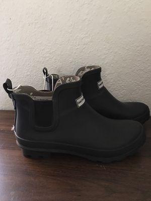 Smith & Hawken Womens ankle rain boots sz 8 for Sale in Hialeah, FL
