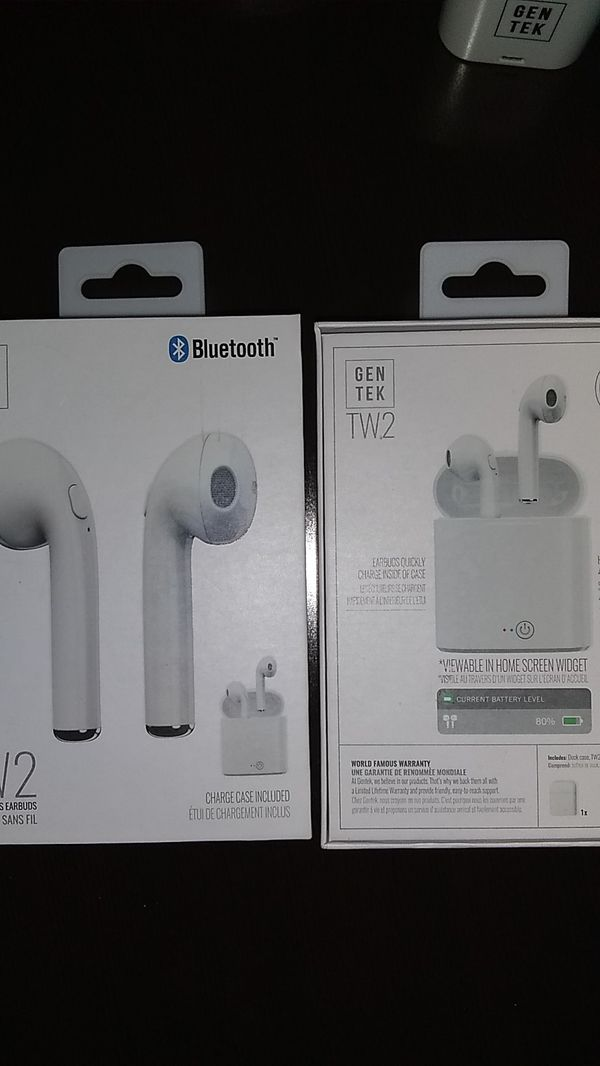 Bluetooth and wired headphones and chargers