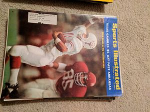 1969 sports illustrated Texas vs Arkansas for Sale in Corinth, ME