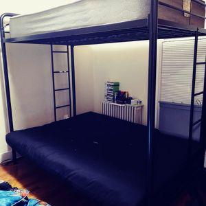 Tween Bed New Futon And New Tween Matress for Sale in West Haven, CT